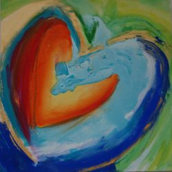 Example Heart Painting