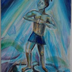 Example Spirit guide painting